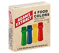 Adams Natural Food Color - 2.24 Oz