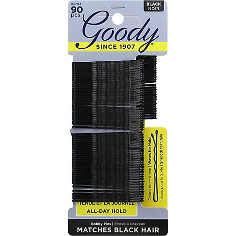 Goody Bobby Pins Black - 90 Count