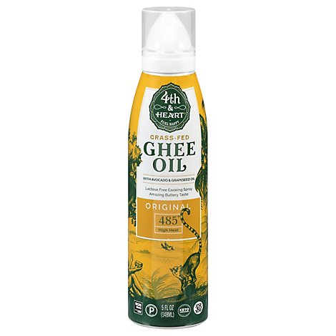 4th Heart Oil Ghee Original Spray - 5 Fl. Oz.