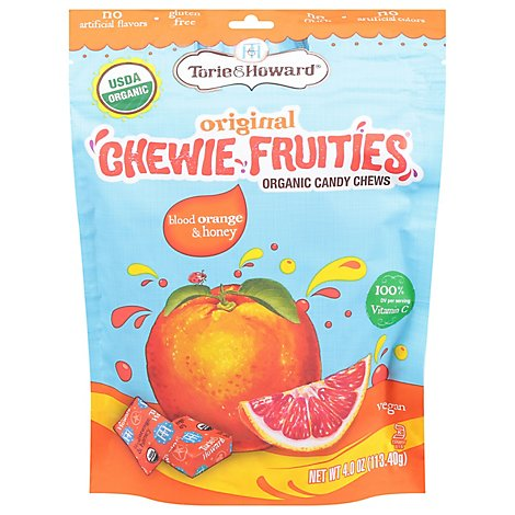 Torie & Howard Chewy Fruities 4 Ounce Blood Orange And Honey 6 Cs - Each