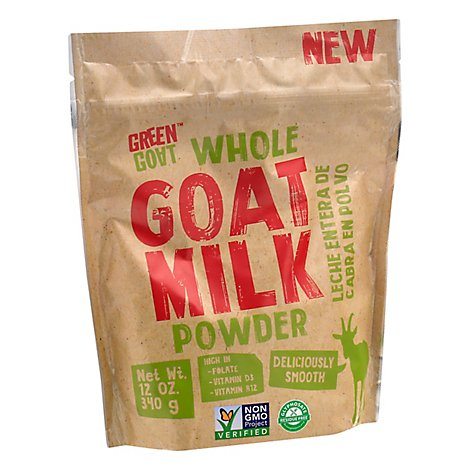 Green Goa Milk Powder Goat Whole - 12 Oz