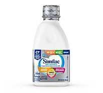Similac Pro-Advance Infant Formula Non GMO with 2 FL HMO With Iron Ready To Feed - 32 Fl. Oz.