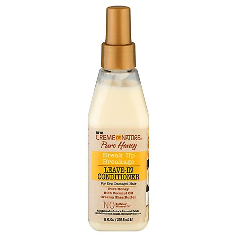 Creme Of Nature Pure Honey Leave-In Conditioner - 8 Oz