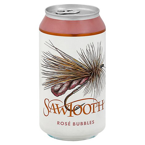 Sawtooth Rose Bubbles Wine - 375 Ml