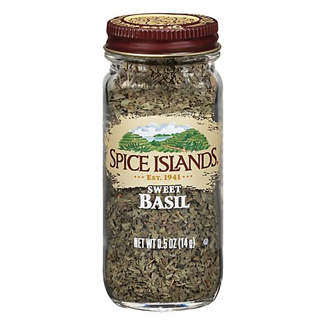 Spice Islands Sweet Basil - .5 Oz