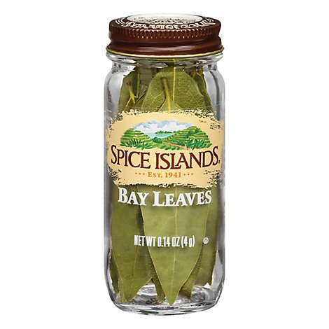 Spice Islands Whole Bay Leaves - .14 Oz