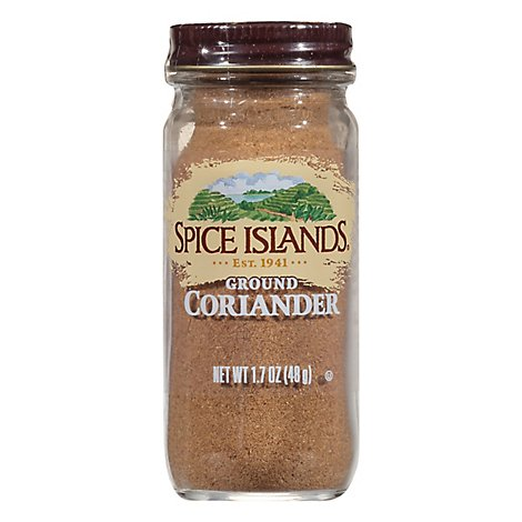Spice Islands Ground Coriander Seed - 1.7 Oz