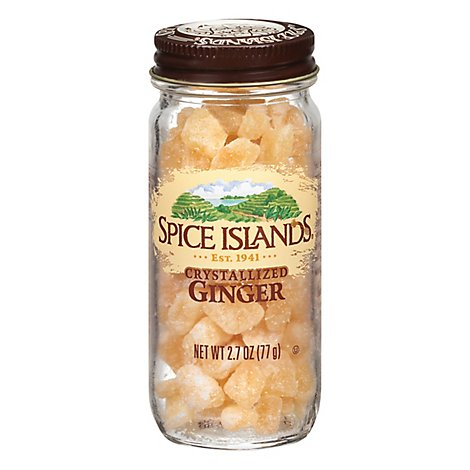 Spice Islands Ginger Crystalyzed - 2.7 Oz