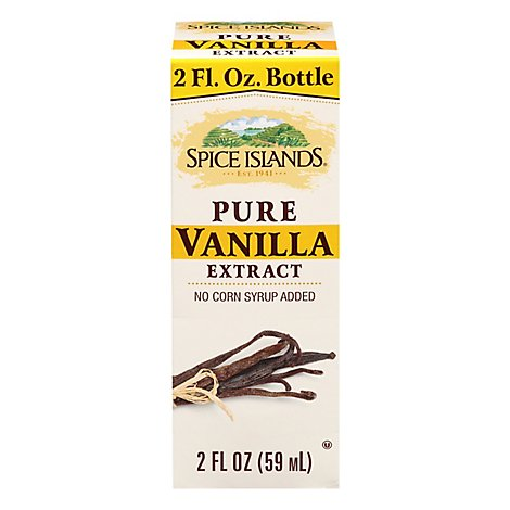 Spice Islands Pure Vanilla Extract - 2 Fl. Oz.