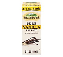 Spice Islands Vanilla Extract Pure - 2 Fl. Oz.