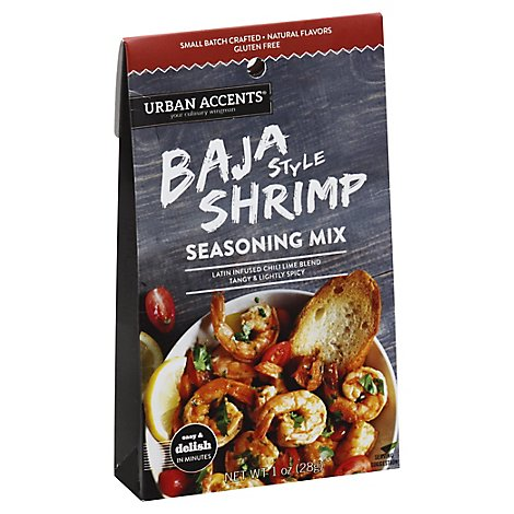 Urban Accents Seasoning Mix Baja Style Shrimp - 1 Oz