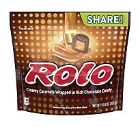 Rolo Chewy Caramels in Milk Chocolate Share Pack - 10.6 Oz