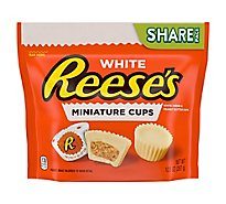 Reeses Miniature Cups White Share Pack - 10.5 Oz