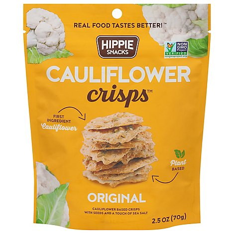 Hippie Sn Crisps Cauliflower Orig - 2.5 Oz