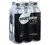 smartwater Alkaline Vapor Distilled Water - 6-33.8 Fl. Oz.