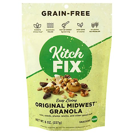 Kitchfix Granola Grn Free Original - 8 Oz