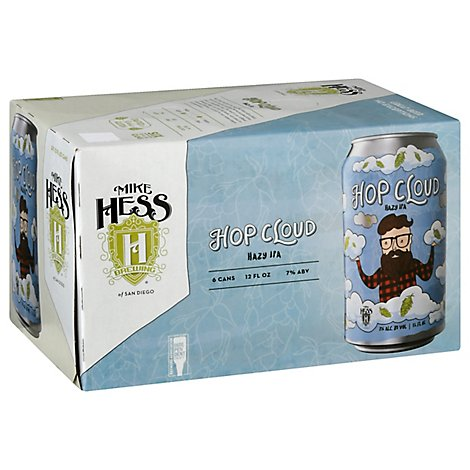 Mike Hess Hop Cloud Ne-Ipa In Cans - 6-12 Fl. Oz.