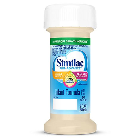 Similac Pro-Advance Non-GMO with 2-FL HMO 4 pk Infant Formula Ready-to-Drink - 2 fl oz