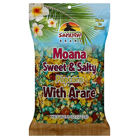 Moana Sweet & Salty Popcorn With Arare - 8 Oz