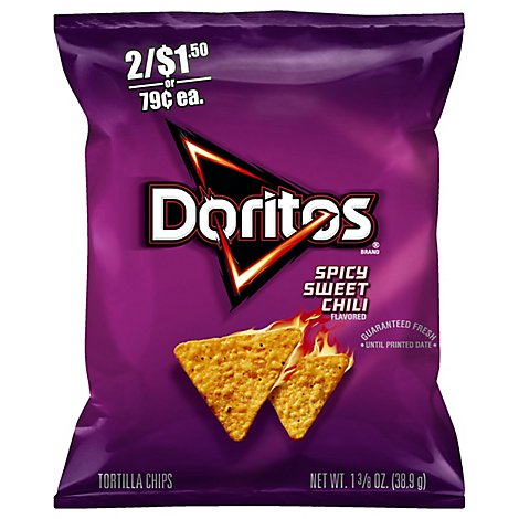 Doritos Spicy Sweet Chili Flavored Tortilla Chips - 1.375 Oz