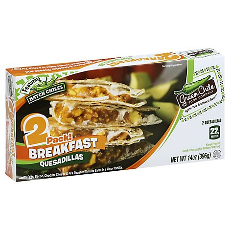 Green Chile Breakfast Quesadilla - 14 Oz