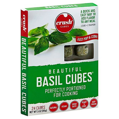 Crush Cub Cubes Basil - 3 Oz
