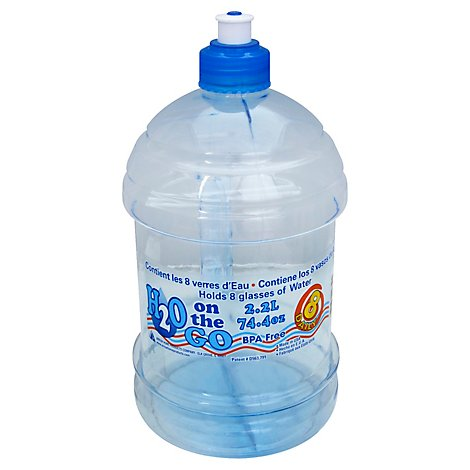 Arrow H2o On The Go Hydration 2.2l Bottle - Each