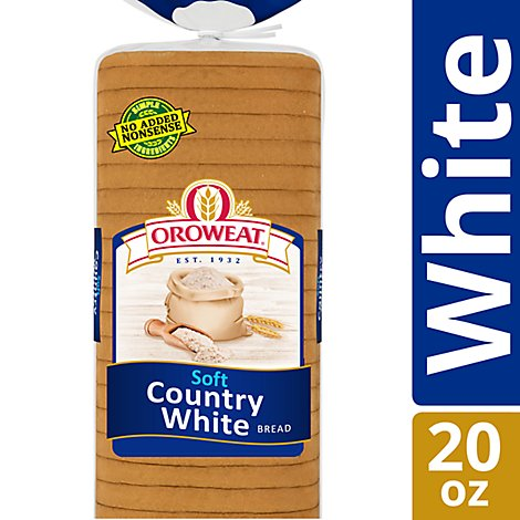Oroweat Bread Soft Country White - 20 Oz