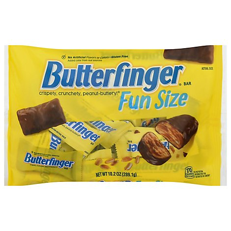Butterfinger Candy Bars Fun Size - 10.2 Oz