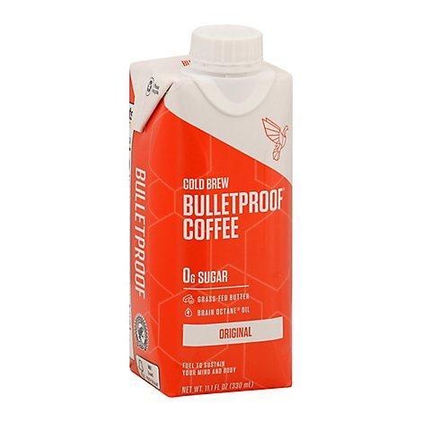 Bulletpro Coffee Cld Brw Org Unswt - 11.1 Fl. Oz.