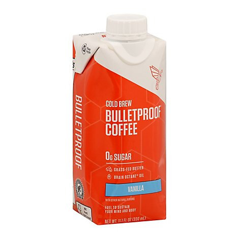 Bulletpro Coffee Cld Brw Vanilla - 11.1 Fl. Oz.