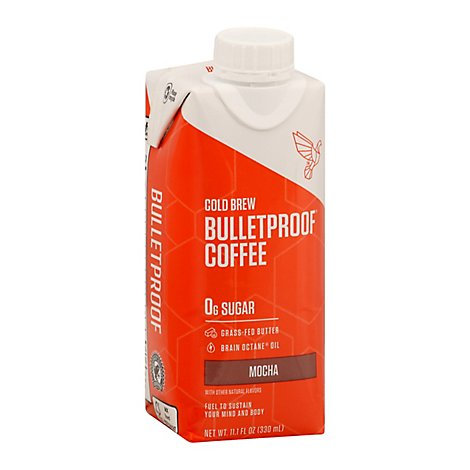 Bulletpro Coffee Cld Brw Mocha - 11.1 Fl. Oz.