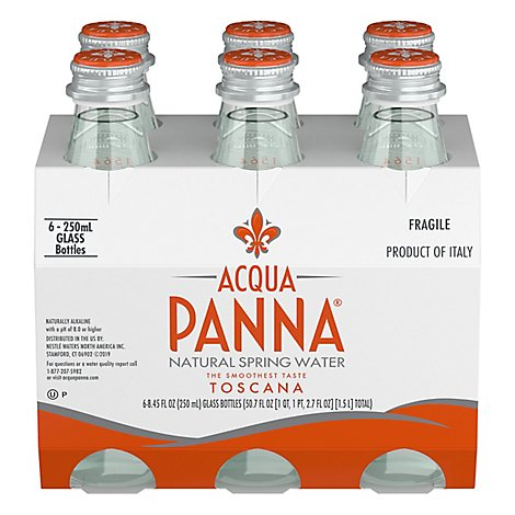 Acqua Panna Spring Water - 6-250 Ml