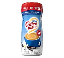 Coffee mate Coffee Creamer Powder French Vanilla Value Size - 30 Oz