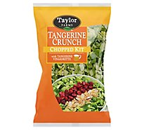 Taylor Farms Salad Chopped Kit Tangerine Crunch - 12.35 Oz