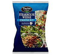 Taylor Farms Salad Chooped Kit Steakhouse Wedge - 12.87 Oz