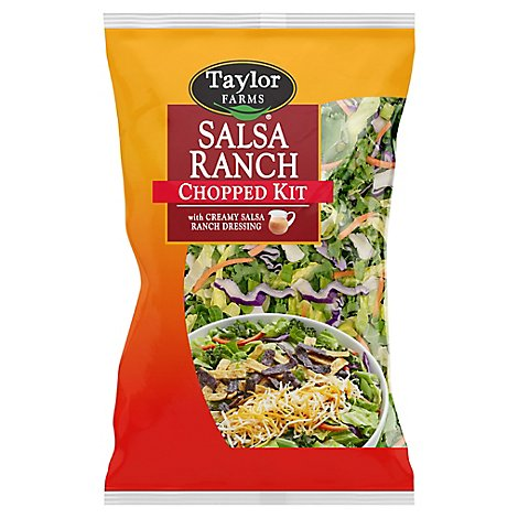 Tf Salad Chopped Salsa Ranch - 12.45 Oz