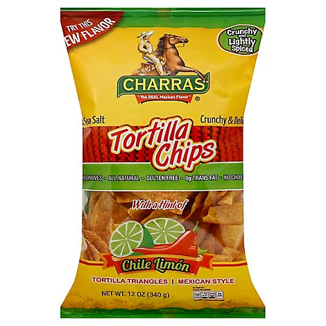 Rg Chili And Lime Tortilla Chips - 12 Oz