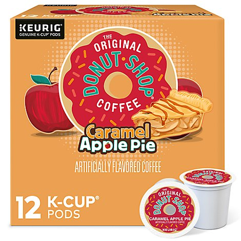 Orig Donut Shop Caramel Apple Pie Kcup - 12 Count