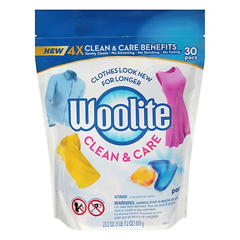Woolite Gentle Cycle Pacs - 30 Count