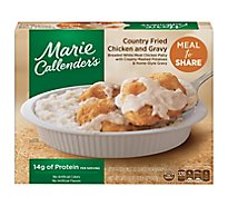 Marie Callenders Chicken And Gravy Country Fried - 24.6 Oz