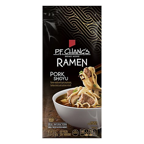 P.F. Changs Home Menu Frozen Meal Ramen Pork Shoyu - 20 Oz