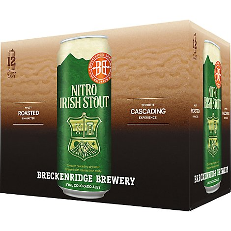 Breckenridge Nitro Irish Stout - 12-13.6 Fl. Oz.