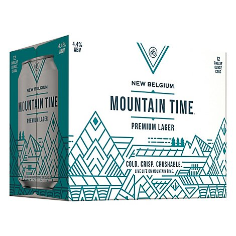 New Belgium Mtn Time In Cans - 12-12 Oz