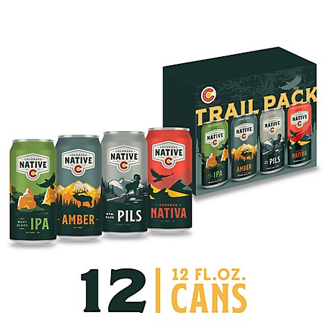 Colorado Native Beer Trail Pack Can - 12-12 Fl. Oz.