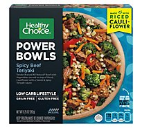Healthy Choice Power Bowls Spicy Beef Teriyaki With Riced Cauliflower - 9.25 Oz