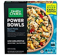 Healthy Choice Power Bowls Basil Pesto Chicken With Riced Cauliflower - 9.25 Oz