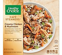 Healthy Choice Cafe Steamers Creamy Chicken Mushroom - 9.25 Oz