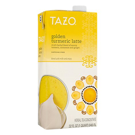 Tazo Tea Bag Concentrated Turmeric Latte - 32 Fl. Oz.