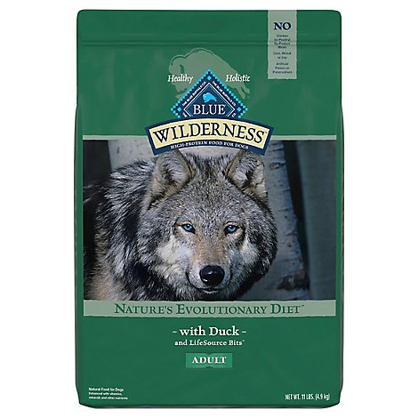 Blue Wilderness Adult Dog Duck - 11 Lb